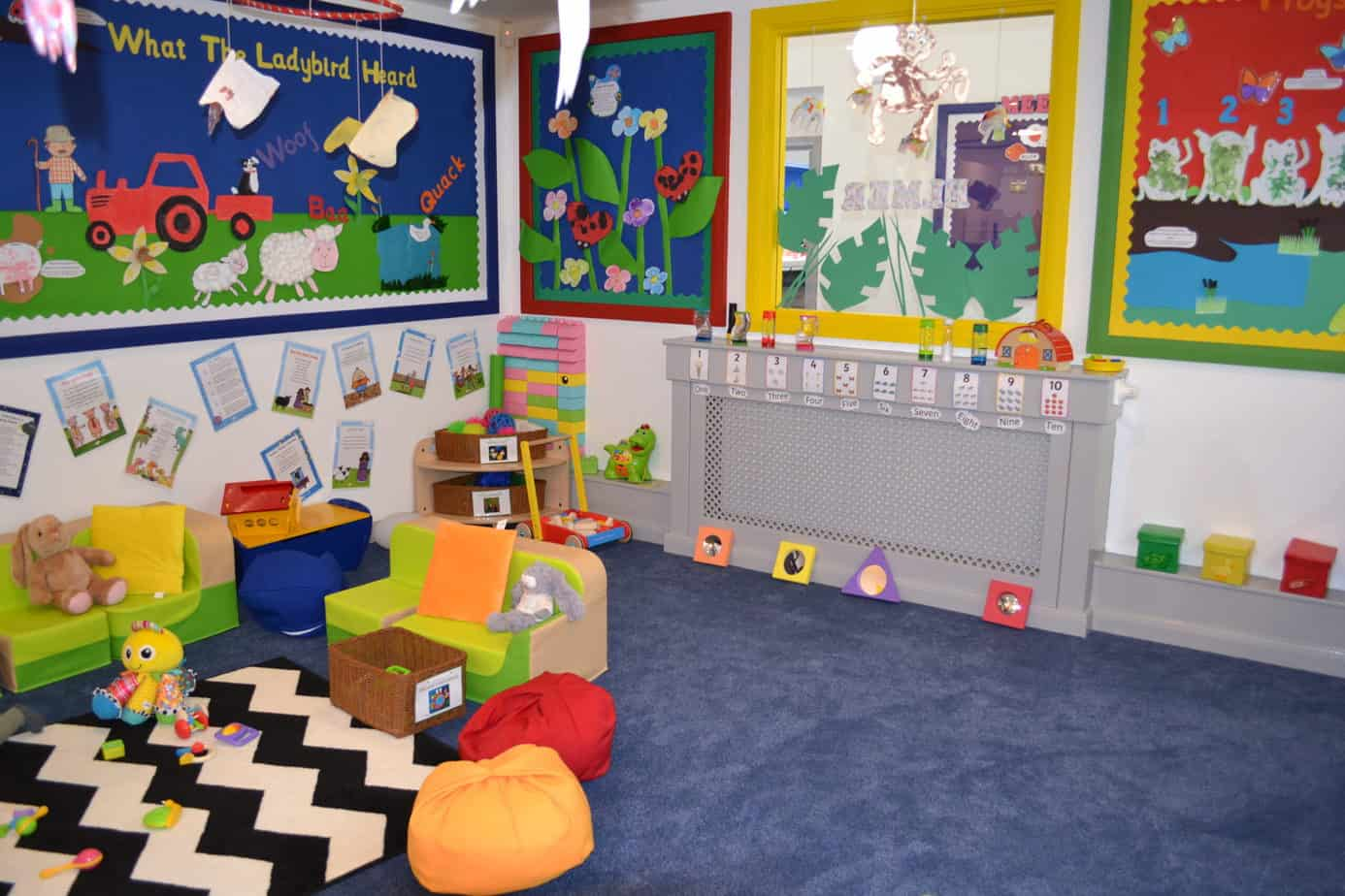 day nursery toddler room