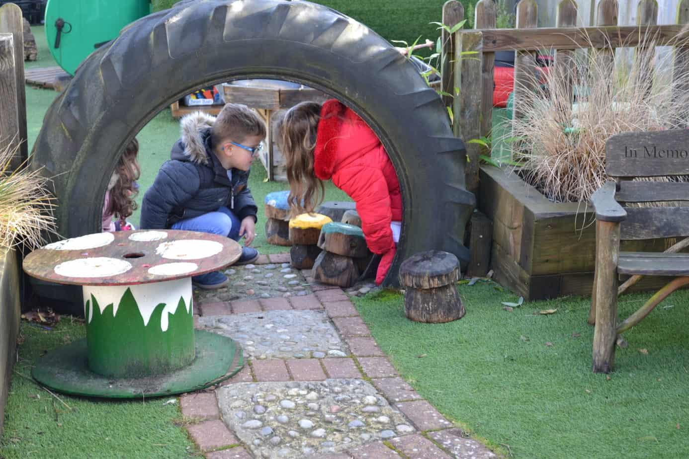 day nursery garden