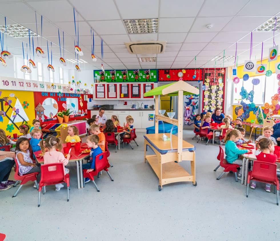 reigate pre-school room